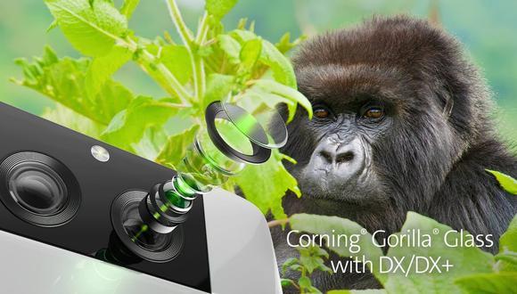 Gorilla Glass DX y DX+ para cámaras móviles. (Imagen: Corning)