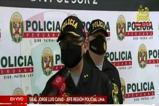 VES: policía detiene a más de un centenar de persona por participar en fiesta