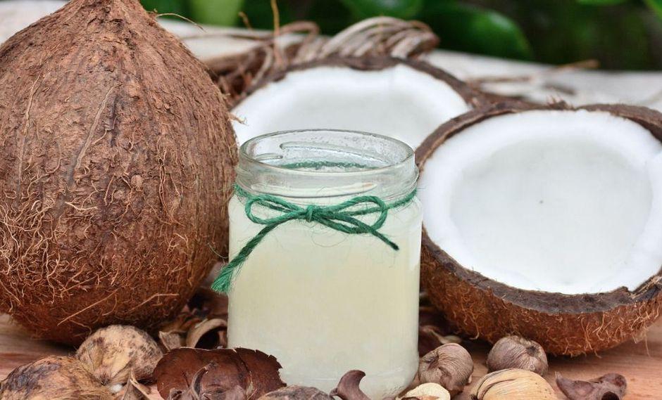 El aceite de coco es ideal para frituras debido a que no se satura cuando es sometido a altas temperaturas. (Foto: Pixabay)