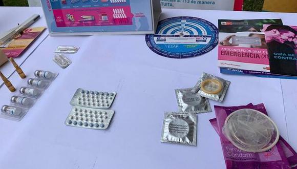 Minsa remarcó la importancia de que los ciudadanos pueden elegir el anticonceptivo para evitar los embarazos no deseados, y poder prevenir una infección de transmisión sexual (ITS). (Foto: Minsa)