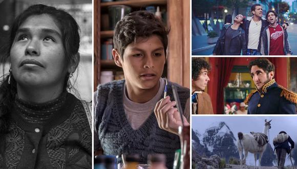 Series y películas peruanas están disponibles en streaming. (Fotos: Difusión)