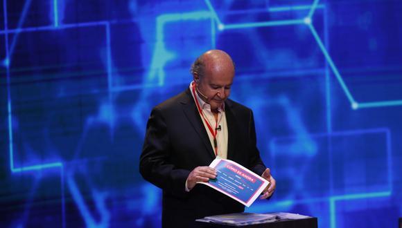 Hernando de Soto, candidato de Avanza País. (Foto: Hugo Pérez   GEC)