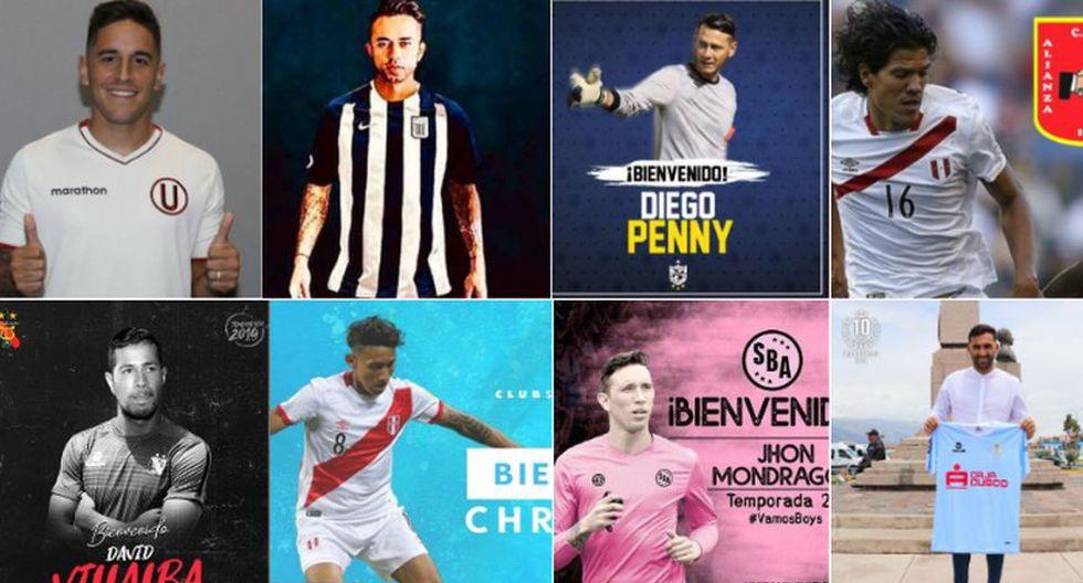 Mercado de pases 2019: los fichajes del fútbol peruano para la Liga.