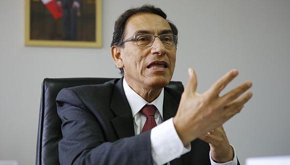 Vizcarra: Interpelación es justa, pero con intereses políticos