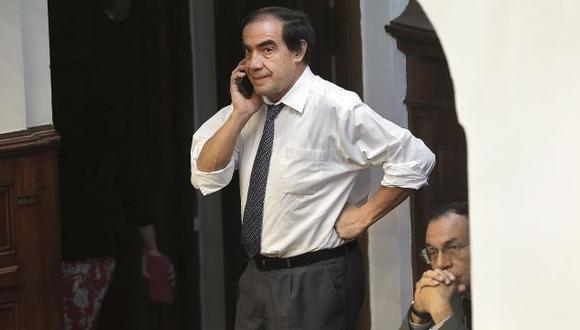 La fiscalía también investiga al legislador Yonhy Lescano por la denuncia de acoso sexual. (Foto: Anthony Niño de Guzmán)
