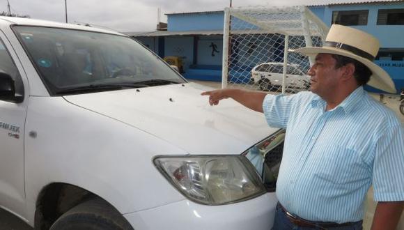 Las Lomas: alcalde denunció ataque de cuatro delincuentes