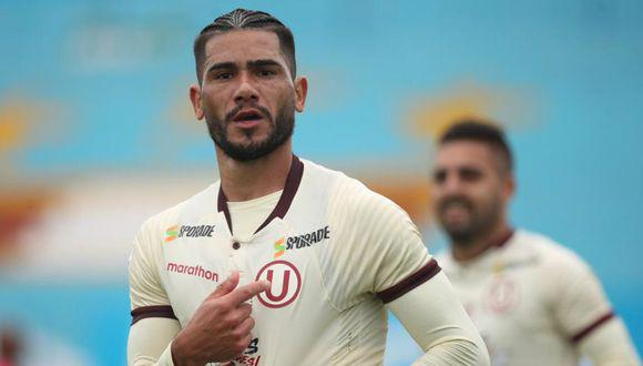 Jonathan Dos Santos registra nueve partidos y 555 minutos en la Liga 1 (Foto: Liga 1)