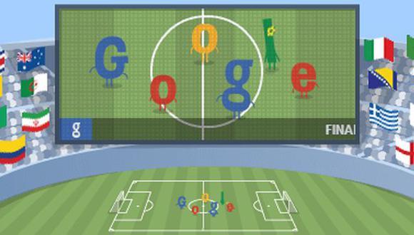 Final Copa del Mundo 2014: Google también juega la final