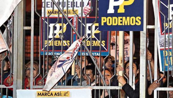 El JEE rechazó por segunda vez un pedido de exclusión, por el mismo proceso, contra Daniel Urresti. (Foto: Alessandro Currarino/ El Comercio)
