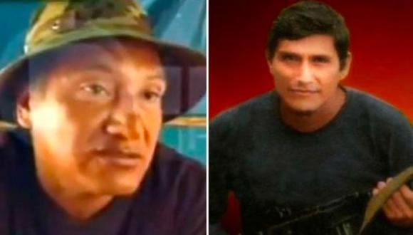 Los hermanos Víctor y Jorge Quispe Palomino –'José' y 'Raúl', respectivamente– serían los responsables de la matanza de una familia en Ayacucho. (Archivo)