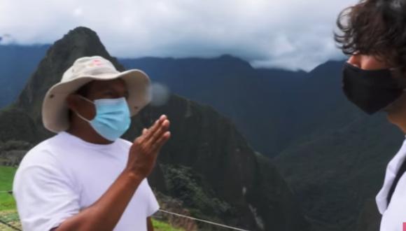 Jóvenes fueron impedidos de hacer una serie de grabaciones debido a que están prohibidas en Machu Picchu. Foto: captura de YouTube