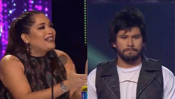 """Imitador de Beto Cuevas no convenció al jurado de """"Yo Soy"""" con presentación. (Foto: Captura Latina)"""
