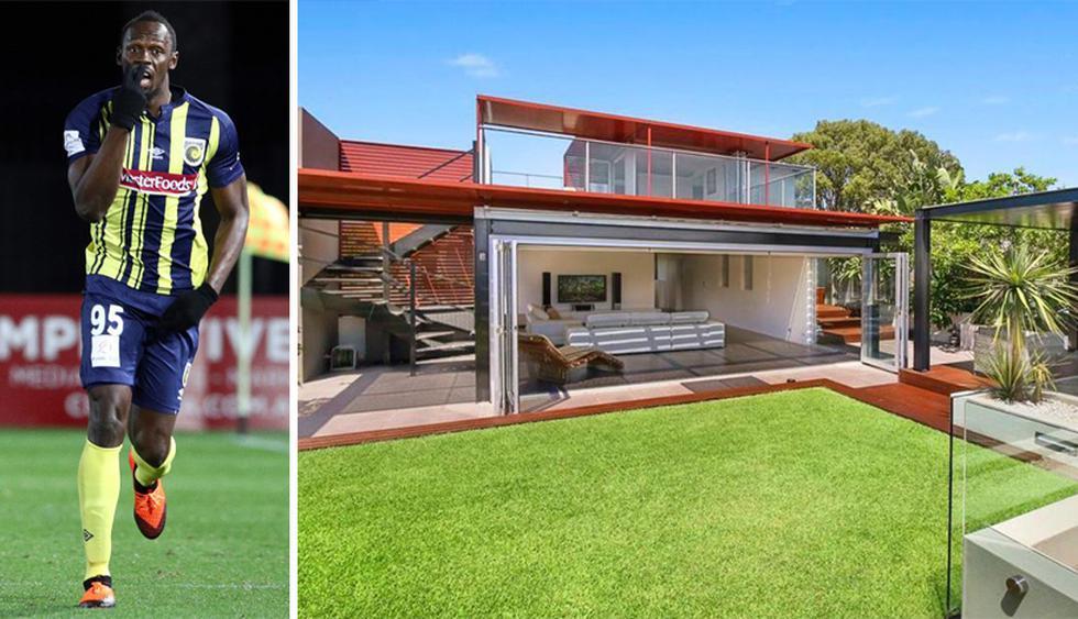 Usain Bolt juega en el Central Coast Mariners de la liga australiana. El ahora futbolista vive en una casa de lujo. (Foto: LJ Hooker)