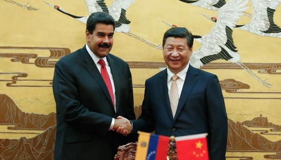 Mandatarios de China y Venezuela serán testigos de la firma de acuerdos bilaterales. (Foto: AFP)