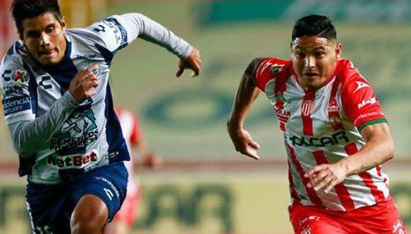 En vibrante partido, Necaxa no pudo derrotar a Pachuca por la novena fecha del Torneo Clausura de la Liga MX 2021. (Foto: Twitter Necaxa)