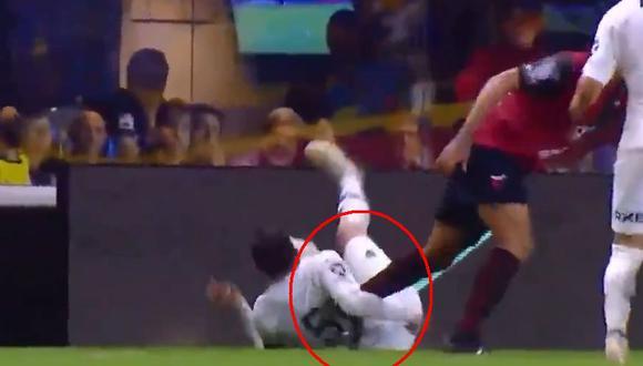Boca Juniors vs Colón: Fernando Gago y el violento cruce con Alan Ruíz | VIDEO (Video: FOX Sports 2 / Foto: Captura de pantalla)