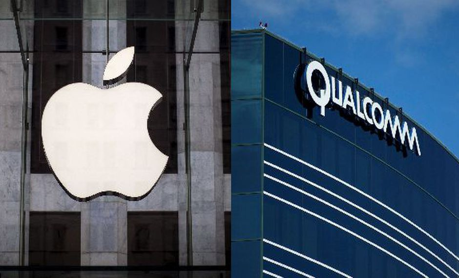 Apple presenta demanda por US$ 1.000 mlls. contra Qualcomm