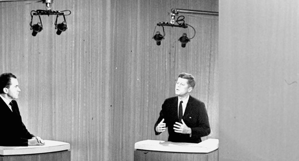 En 1960, John F. Kennedy y Richard Nixon protagonizaron el primer debate televisado de la historia estadounidense. El claro ganador de la noche (y de la elección) fue JFK. (Foto: Archivo AP)