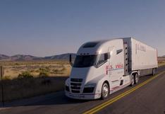 Así se mueve el camión que alcanza hasta 1.900 kilómetros de autonomía