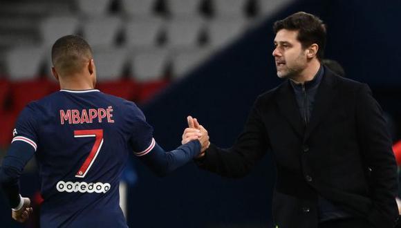 Mauricio Pochettino habló de Kylian Mbappé. (Foto: AFP)