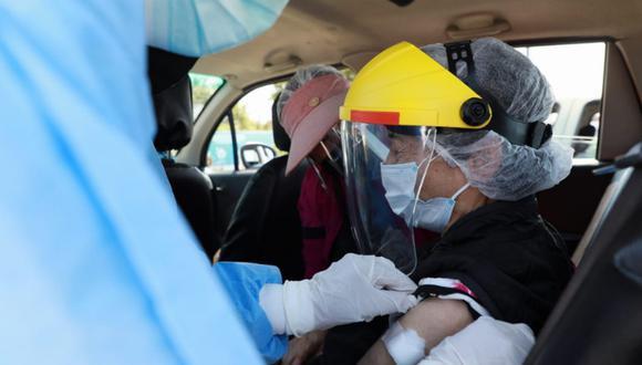 Vacunación contra el COVID-19 sigue avanzando en Lima. (Foto: GEC)