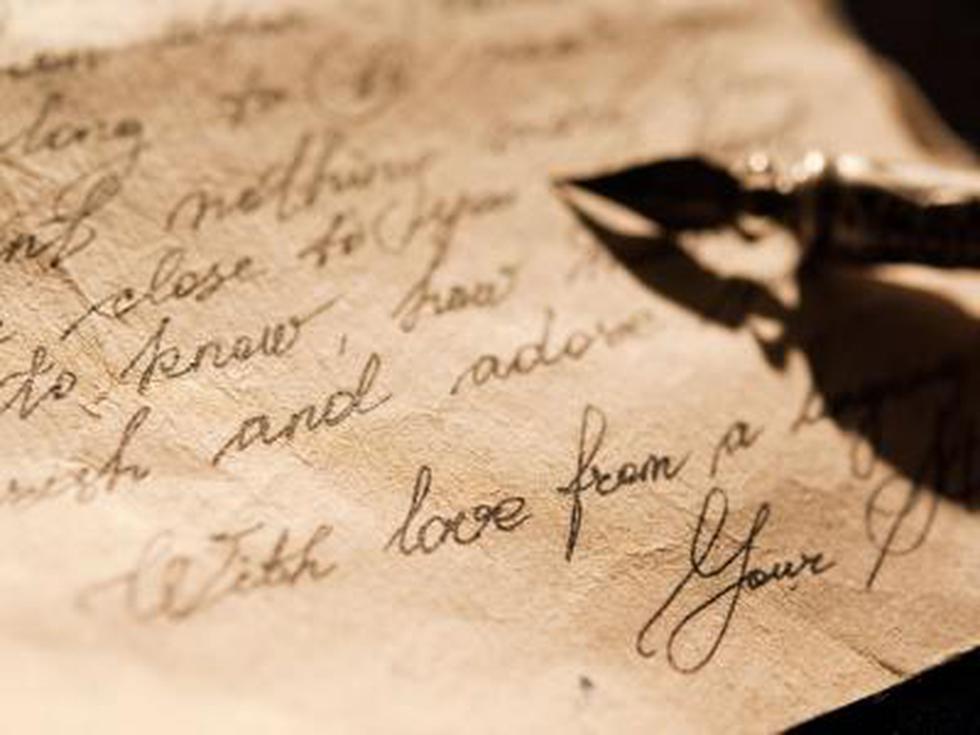 """""""Estas hojas no bastan"""": Las cartas de amor más apasionadas (y demoledoras) de todos los tiempos."""