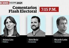 Elecciones 2021: El Comercio analizó los resultados del flash electoral