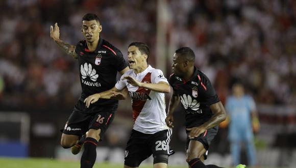 River Plate recibirá al Santa Fe de Colombia este jueves (5.15 p.m. EN VIVO ONLINE por FOX Sports) por la segunda fecha del Grupo 4 de la Copa Libertadores. (Foto: AP)