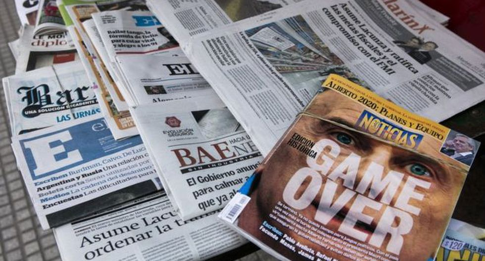La prensa política argentina tiene su propia jerga. Entenderla implica más que usar un traductor. (AFP).