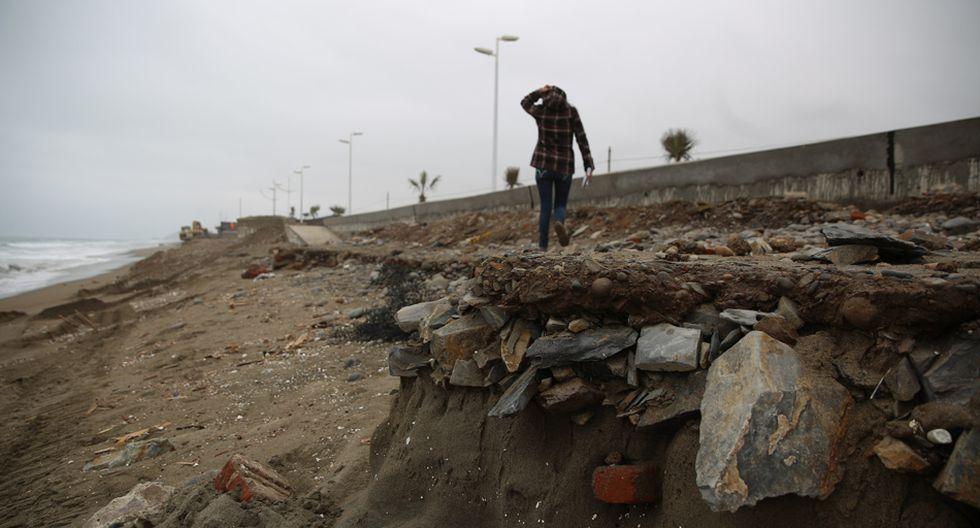 Fotos: los daños que sufrió la Costa Verde Sur - 7
