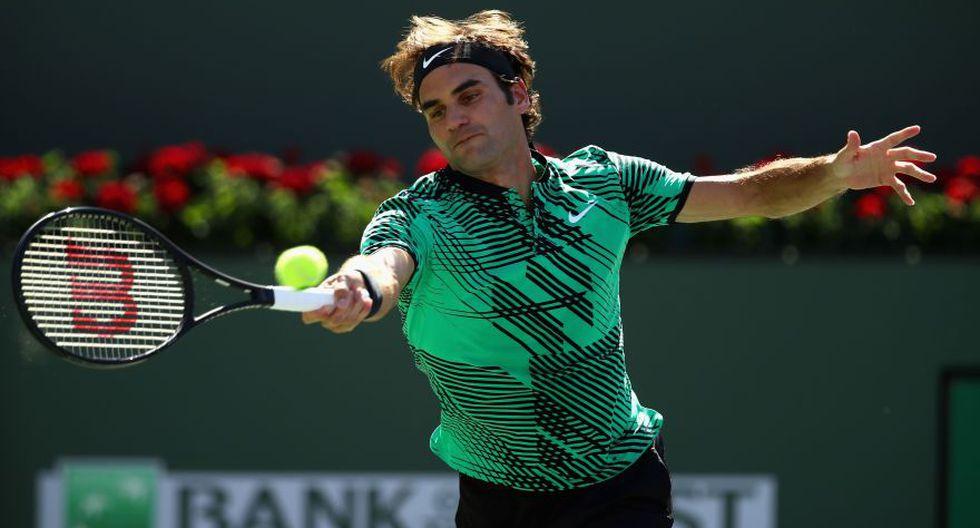 Federer se consagró otra vez en Indian Wells: fotos de la final - 1
