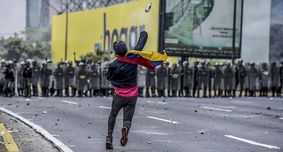 Venezuela vive su quinta protesta del mes contra Maduro - 10