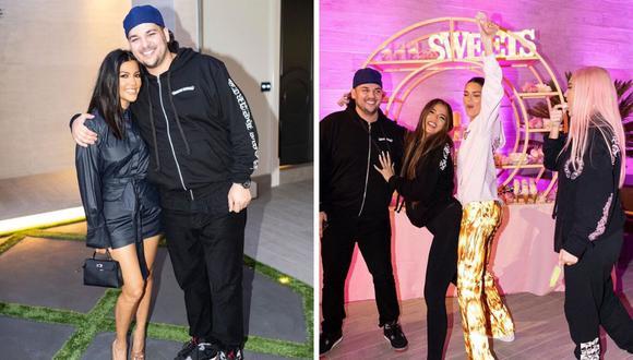 Rob Kardashian no se mostraba en redes sociales desde noviembre del 2019. (@robkardashianofficial)