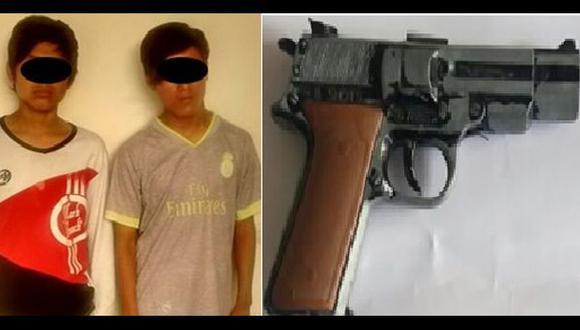 Trujillo: 'Los pitufos' asaltaban con una réplica de pistola