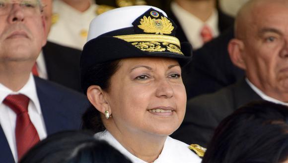 La ministra del Interior de Venezuela Carmen Meléndez en una imagen del 5 de julio del 2013. (Foto: LEO RAMIREZ / AFP).