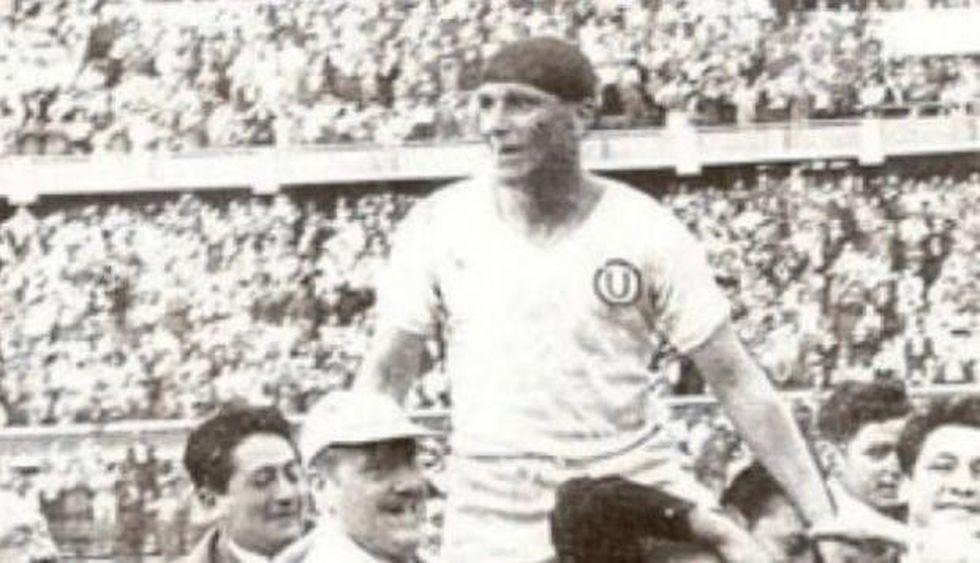 Lolo Fernández, el máximo ídolo del club Universitario de Deportes | Foto: Dominio Público