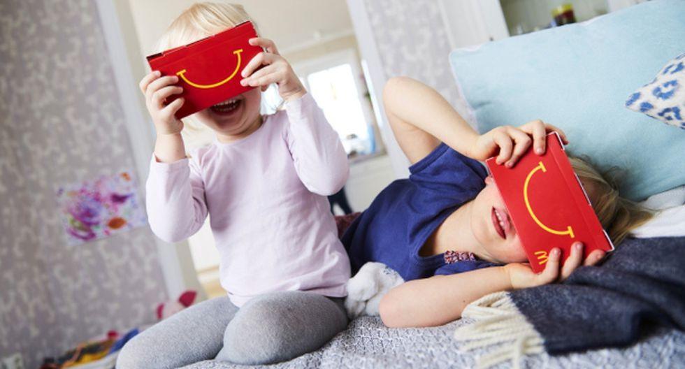 McDonald's convierte cajita feliz en visor de realidad virtual - 1