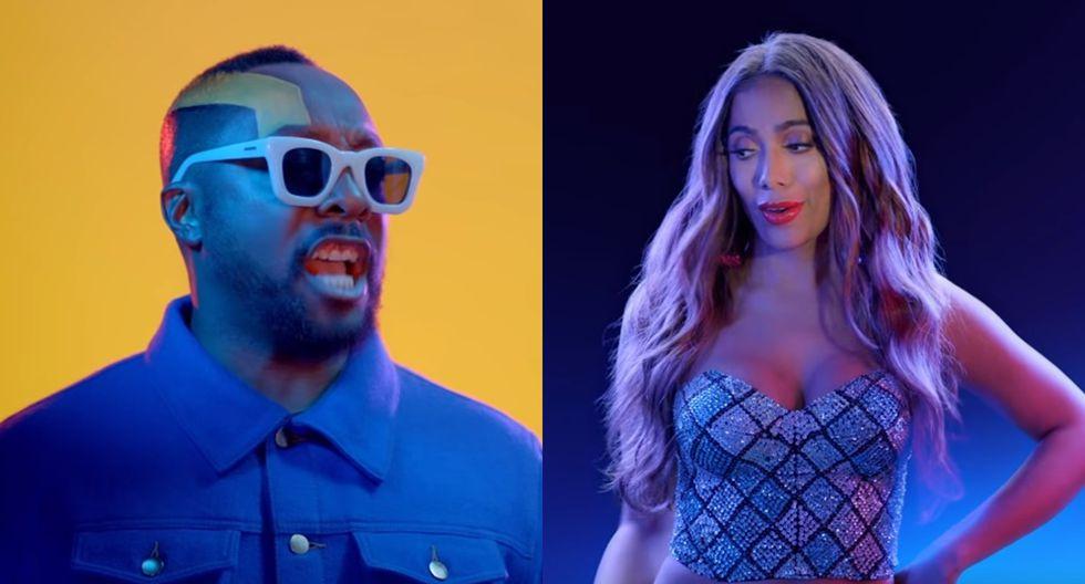 El nuevo tema de los Black Eyed Peas y Anitta se grabó hace cinco meses en Las Vegas. Foto: Difusión.