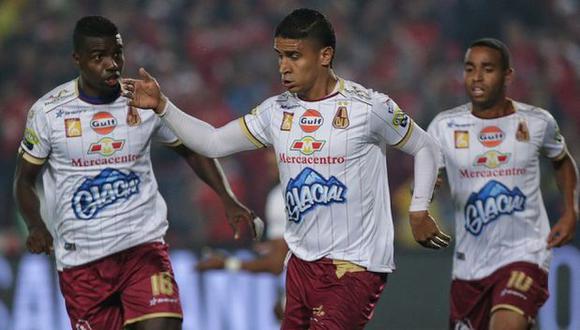 Tolima venció de visitante a Santa Fe por 2-1 y se acercó a las semifinales de la Liga Águila | Foto: caracol