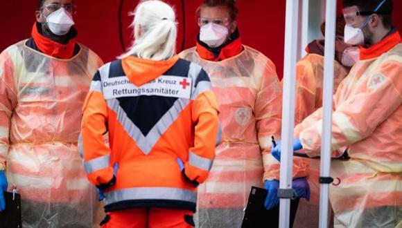 Alemania señaló que tiene la capacidad de hacer 160.000 exámenes por semana para detectar el coronavirus. (Getty Images).