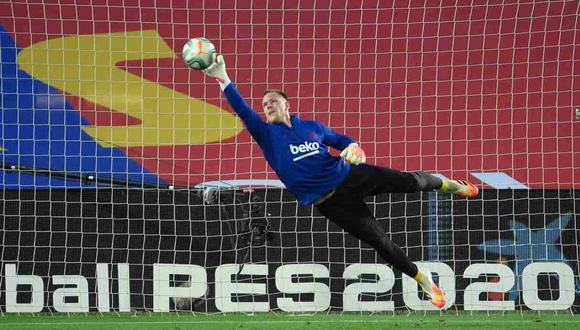 Marc-André ter Stegen respondió sobre la renovación con Barcelona. (Foto: AFP)