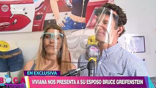 Viviana Rivasplata presentó a su esposo Bruce Greifenstein