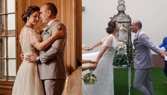 Karla Tarazona reveló imágenes inéditas de su boda con Rafael Fernández. (Foto: @latarazona).