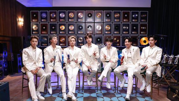 BTS buscará llevarse este domingo un premio Grammy. (Foto: MTV)