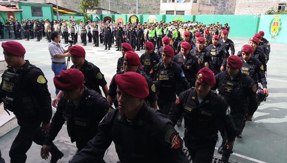 Apurímac: 250 policías saldrán a las calles por Semana Santa en Abancay