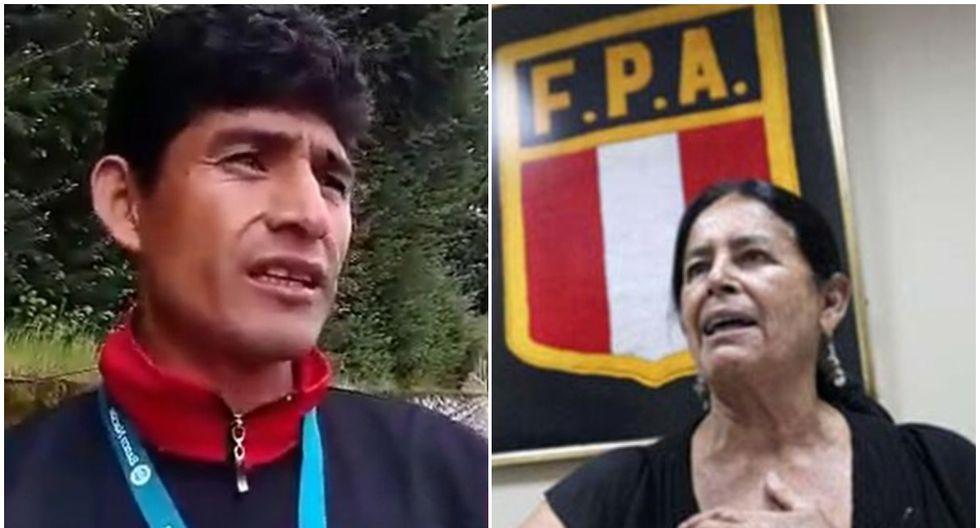 José Luis Chauca y Marita Letts Colmenares. (Difusión)