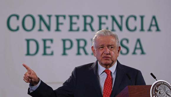 El mandatario de México, Andrés Manuel López Obrador. EFE
