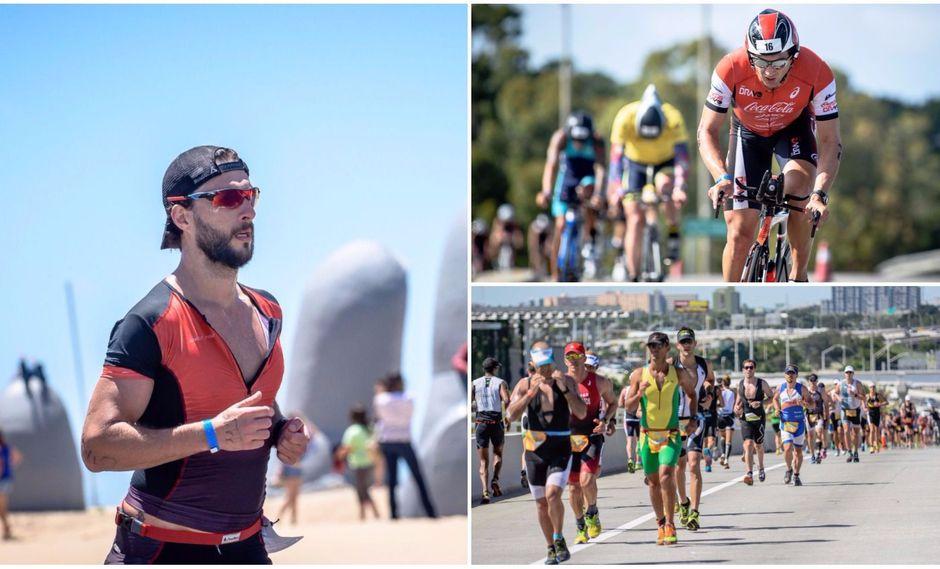 Más de 1.000 participantes de 23 países competirán en Ironman 70.3 el 26 de noviembre en Punta del Este. La competencia otorga 30 plazas para el World Championship 2018 en Sudáfrica. (Foto: agencias)
