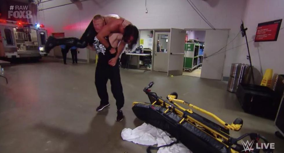 WWE Raw: revive todas las peleas con la aparición de Brock Lesnar y el ataque a Seth Rollins | VIDEO. (Foto: Twitter)