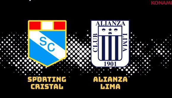 Alianza Lima y Sporting Cristal son los finalistas del campeonato peruano. (Foto: Konami)